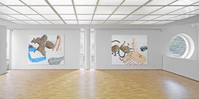 Raumansicht Ausstellung von Bettina von Haaren, 2016