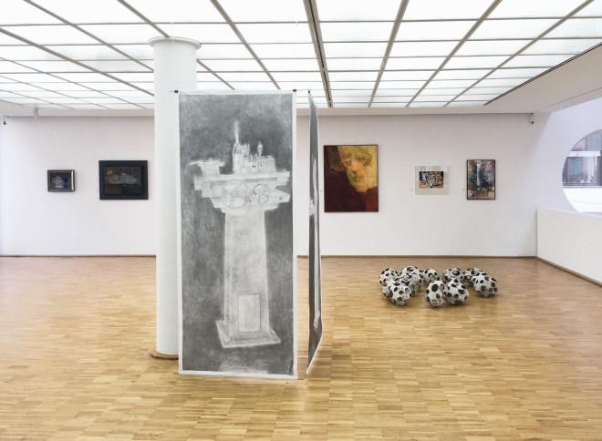 Blick in die Jahresausstellung 2018