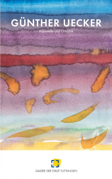 Cover Publikation Gunther Uecker Leporello