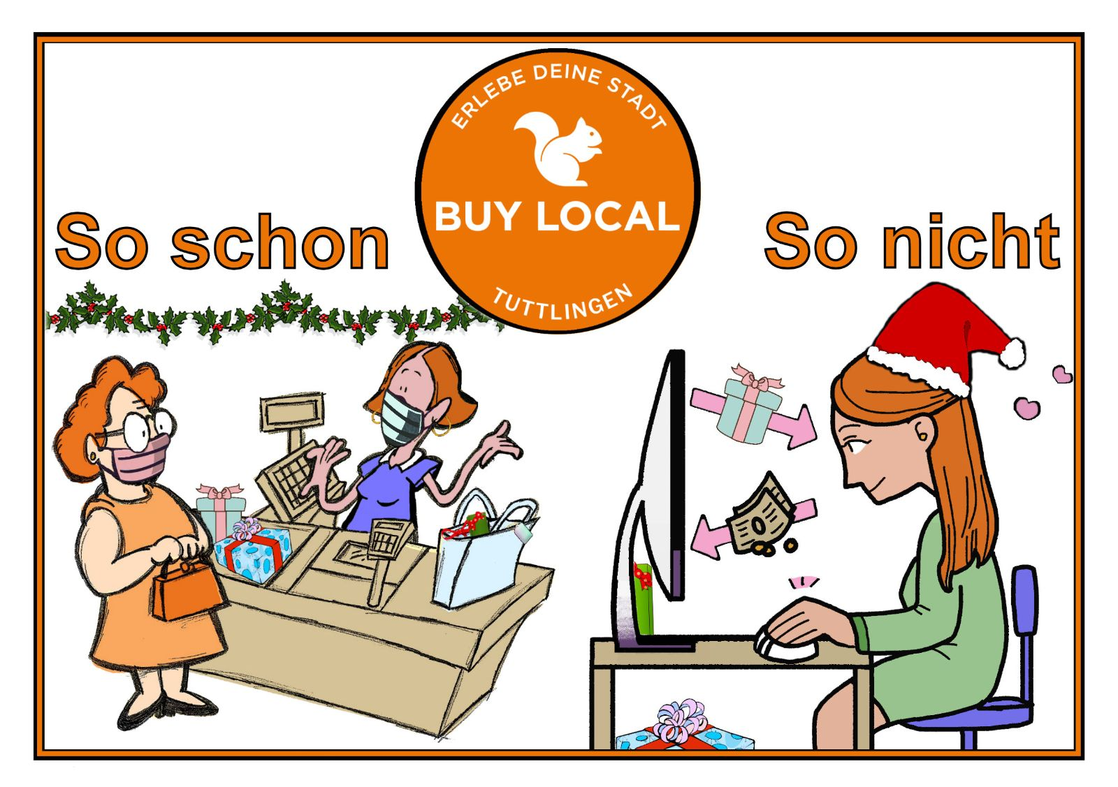 buy local anzeige