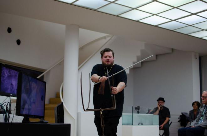 Jeremias Heppeler, 2019 in der Galerie