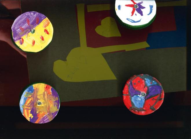 Kunstwerk von Cool Arts, Detail-Karten
