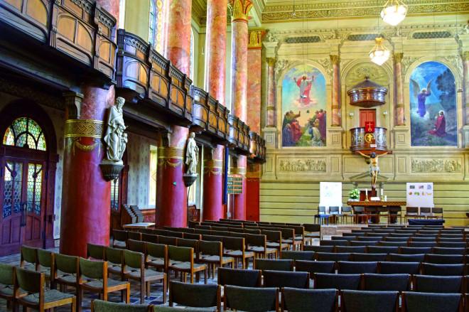 Die Tuttlinger Stadtkirche von innen