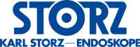 Logo Karl Storz – blauer Schriftzug STORZ Karl Storz – Endoskope