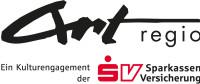 Logo Art-Regio – schwarz-roter Schriftzug Art-Regio, ein Kulturengagemend der SV Sparkassenversicherung