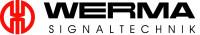 Logo Werma Signaltechnik – rot-schwarzer Schriftzug WERMA Signaltechnik