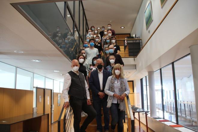 Teilnehmer des Nahtworkshops