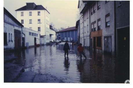 Hochwasser Donau