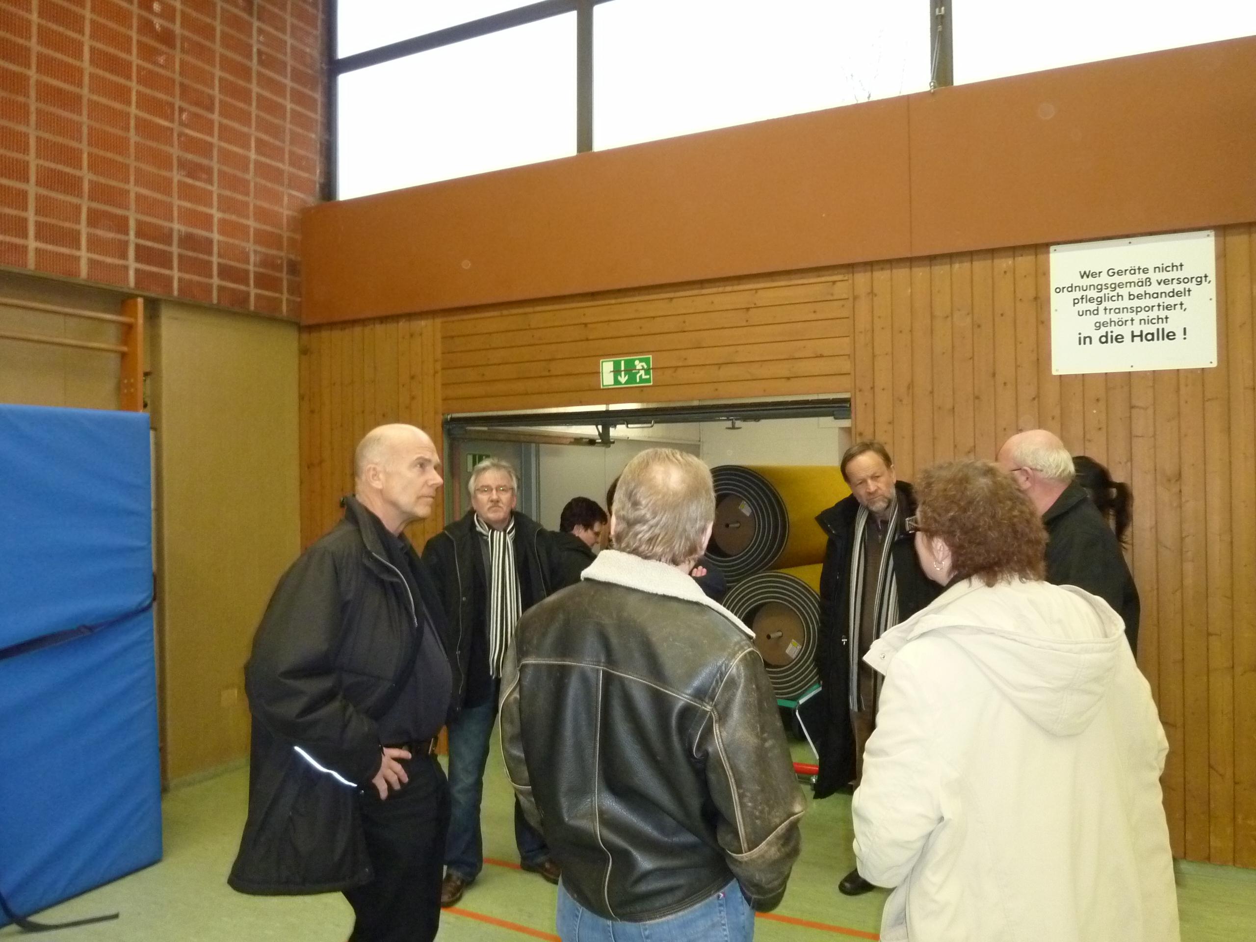 CDU-Fraktion Besichtigung Möhringer Sporthalle 02