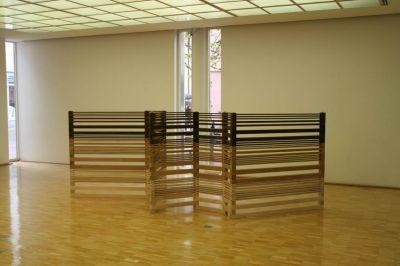 Helga Weihs in der Galerie
